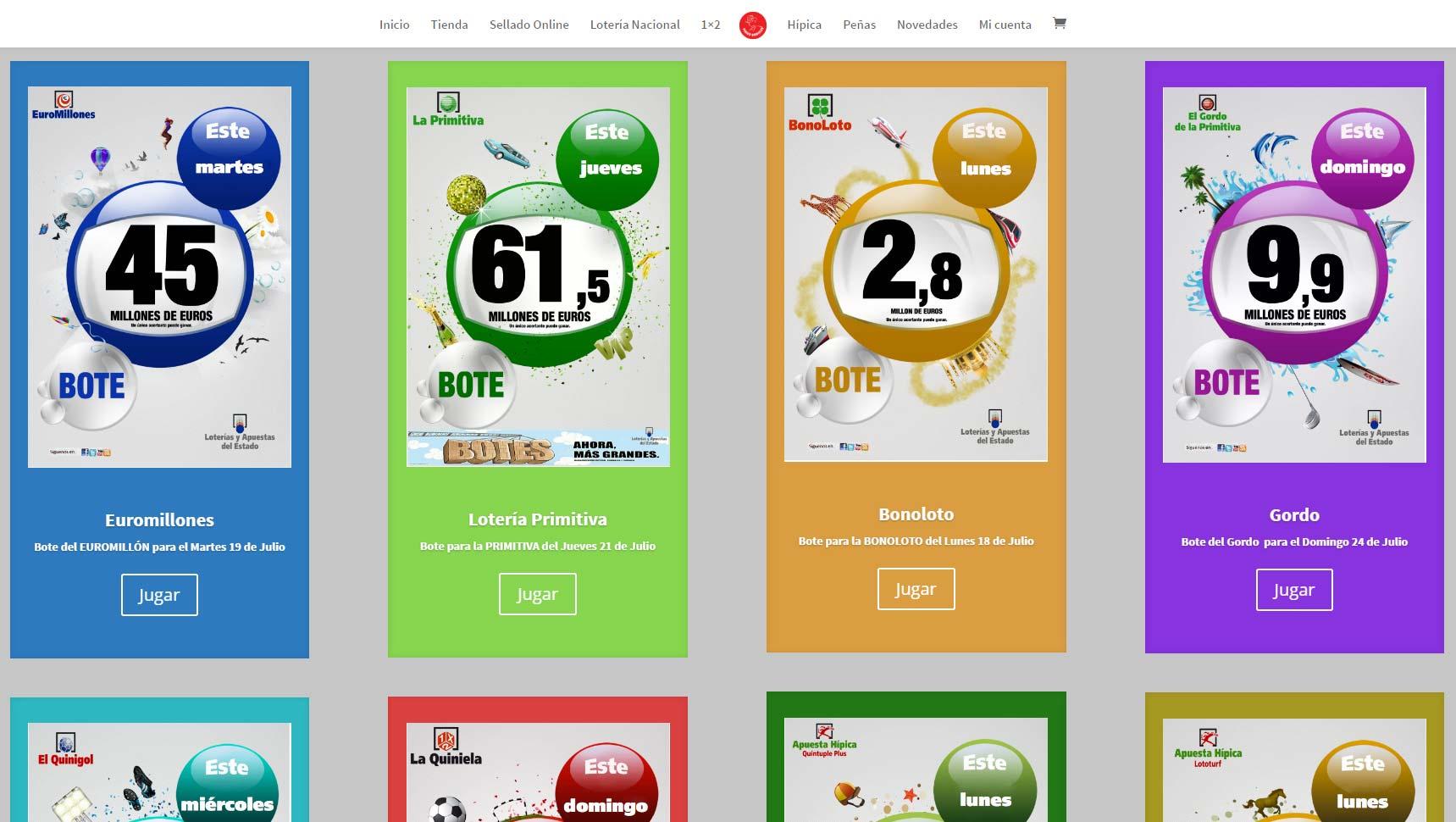 Administración Loterías León Número 25
