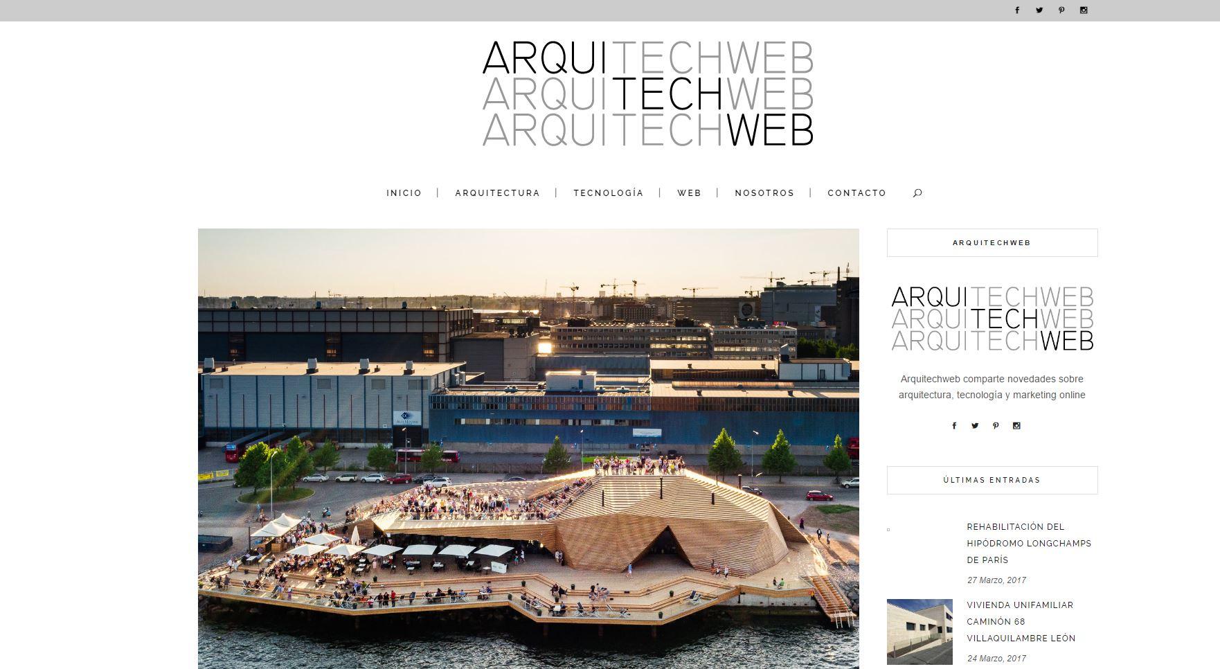 Blog ArquTtechWeb