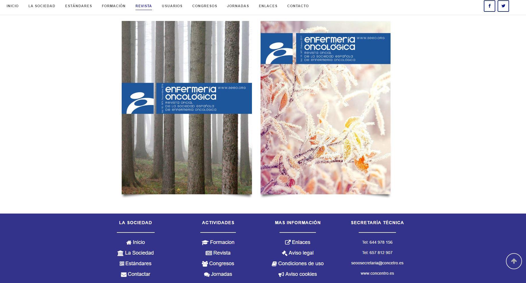 Sociedad Española Enfermería Oncológica