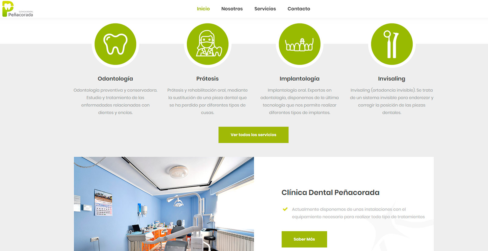 Clínica dental Peñacorada León
