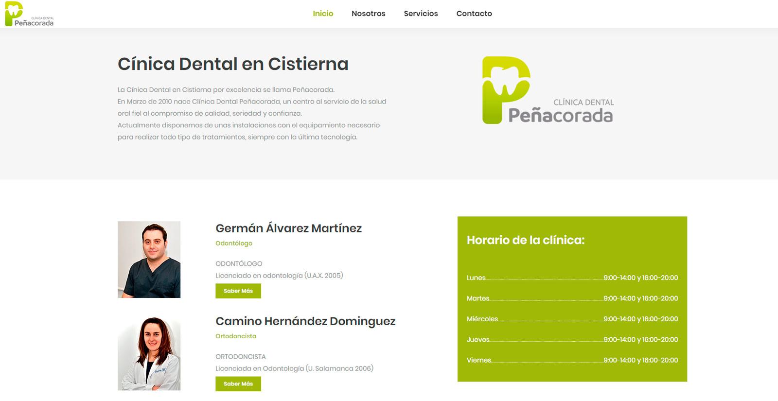 Clínica dental Peñacorada León