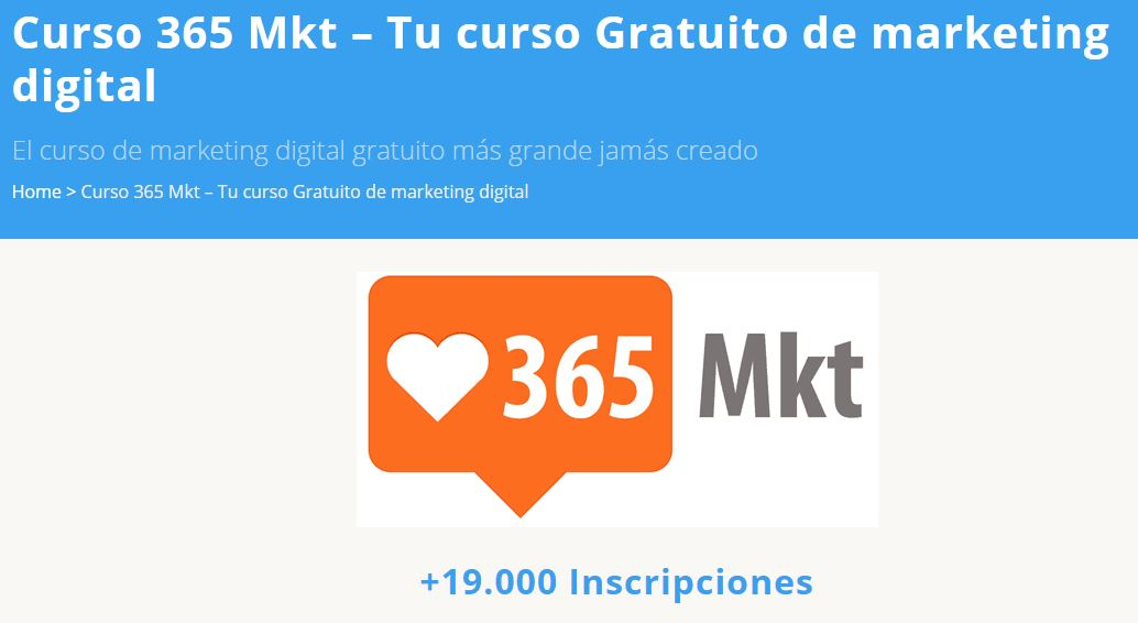 Cursos gratis online de marketing