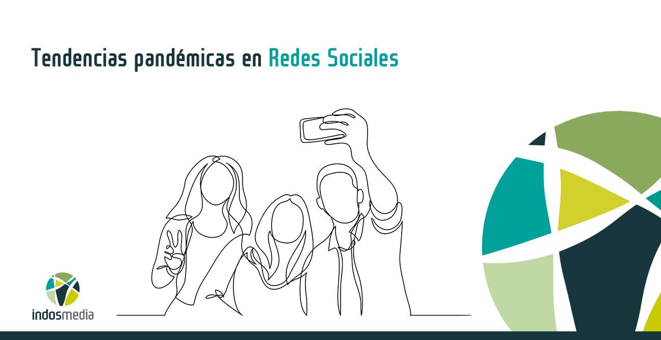 Tendencias pandémicas en redes sociales
